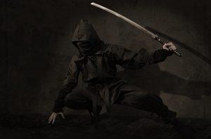 ninja sword vs a samurai sword